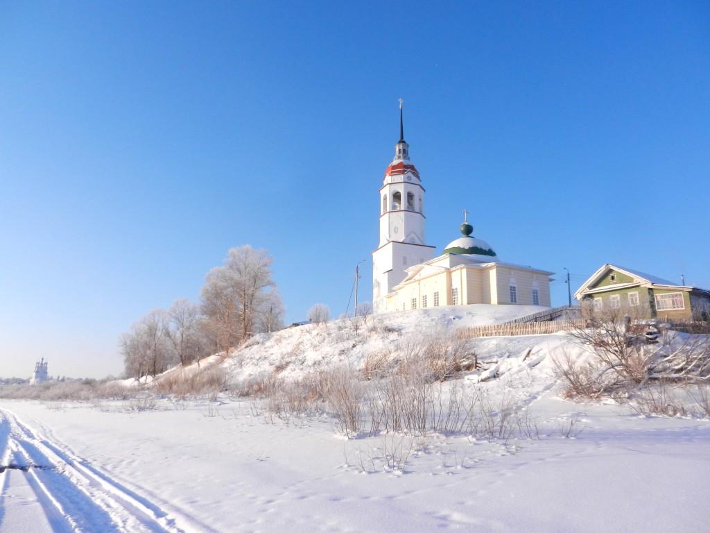 Сухона зимой