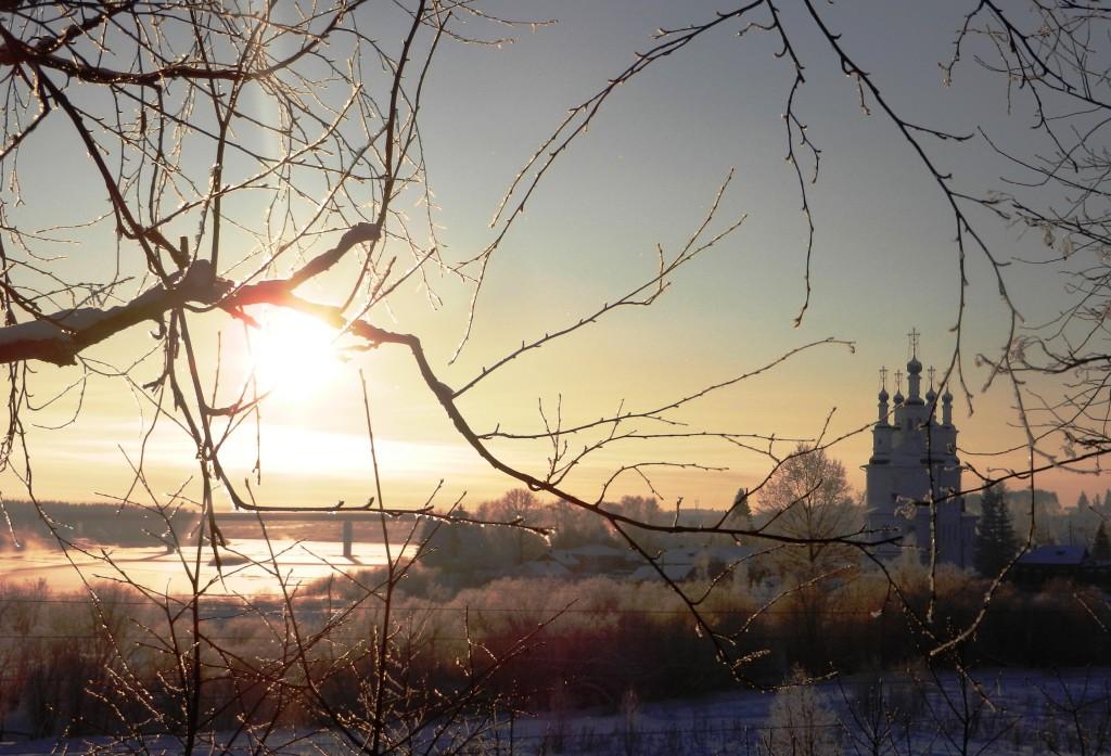Сухона зимой-2