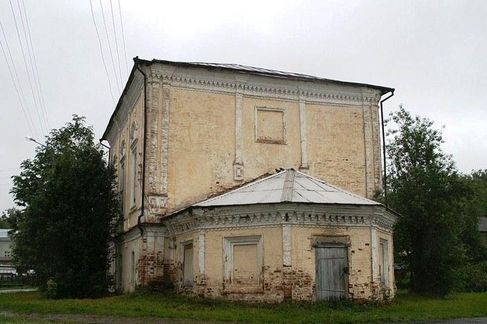 Храм Воскресения в Тотьме