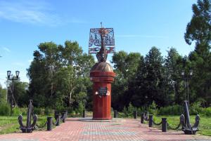 Памятник Российским землепроходцам и мореходам 002