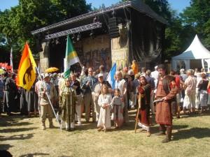 Вологодская делегация Ганзейские дни г.Зальцведель (Германия)