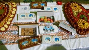 Мармелад, конфеты, щербет в подарочной упаковке