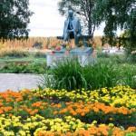 Памятник Рубцову