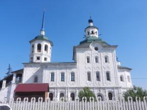 Спасская церковь в селе Урик