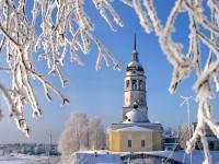 Успенская церковь зимой