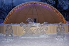 ледяная скульптура 2018