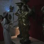 Ангелы в ночи фрагмент акции  Ночь в музее